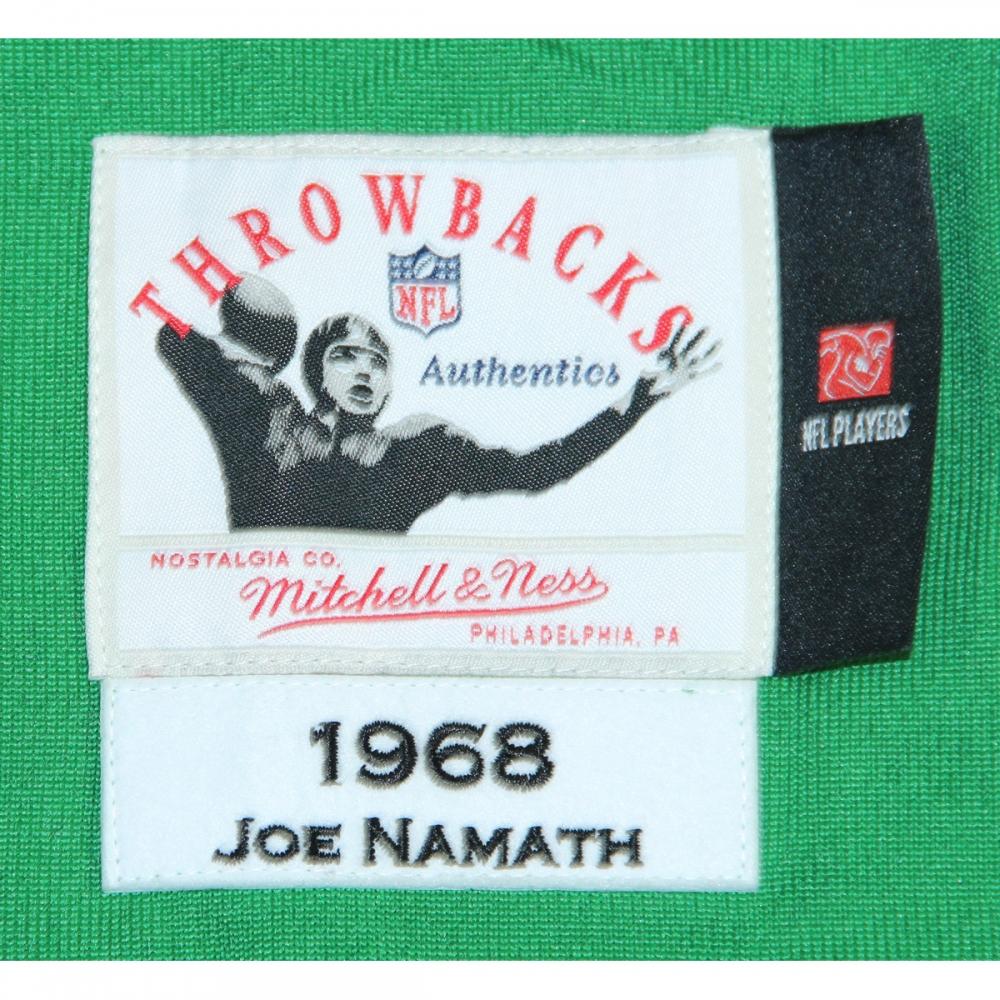 ... 1969 New York Jets Team Signed LE Throwback Joe Namath Jersey (Steiner  COA) at ... c08550dd1