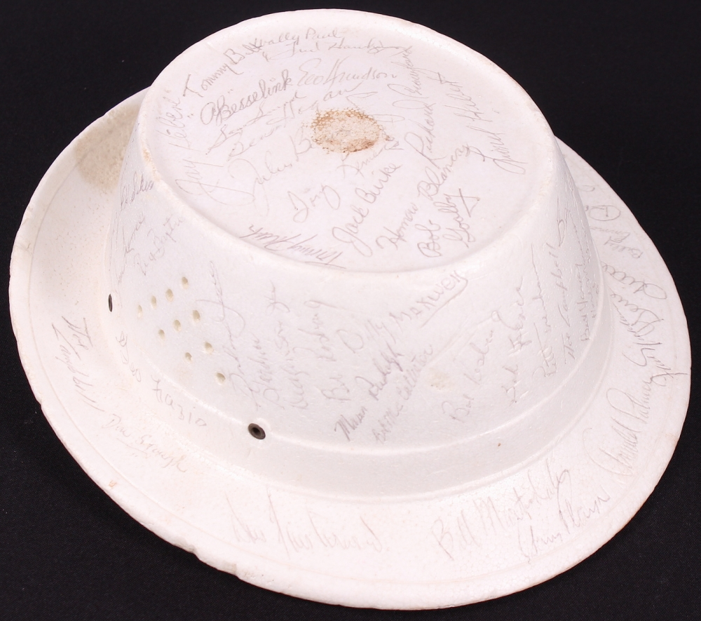 Golf Greats Signed 1965 Whitmarsh Open Styrofoam Golf Hat With (55+)  Signatures Including 48e254b40a2