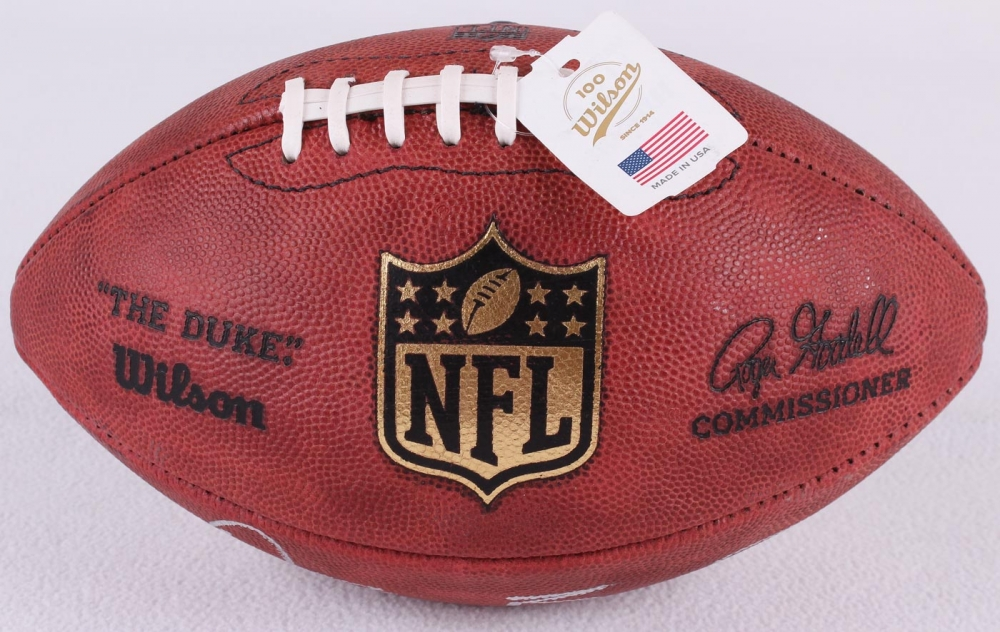 Dez Bryant Signed Official NFL Game Ball Inscribed