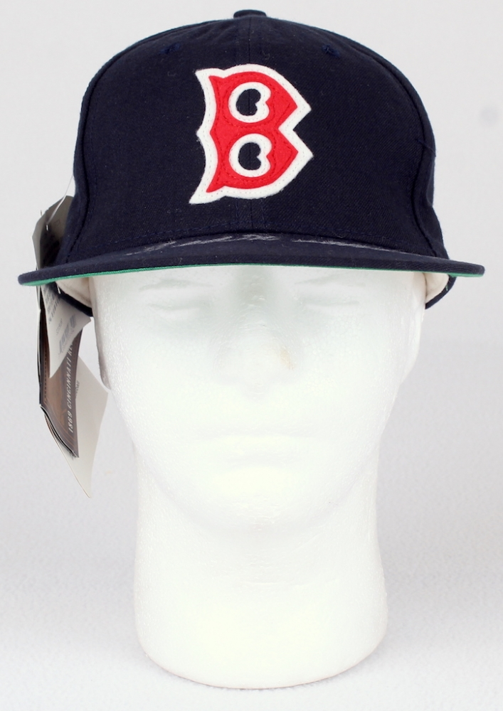 Ted Williams Signed Vintage Red Sox Hat (JSA LOA) at PristineAuction.com 0f1da635d8a