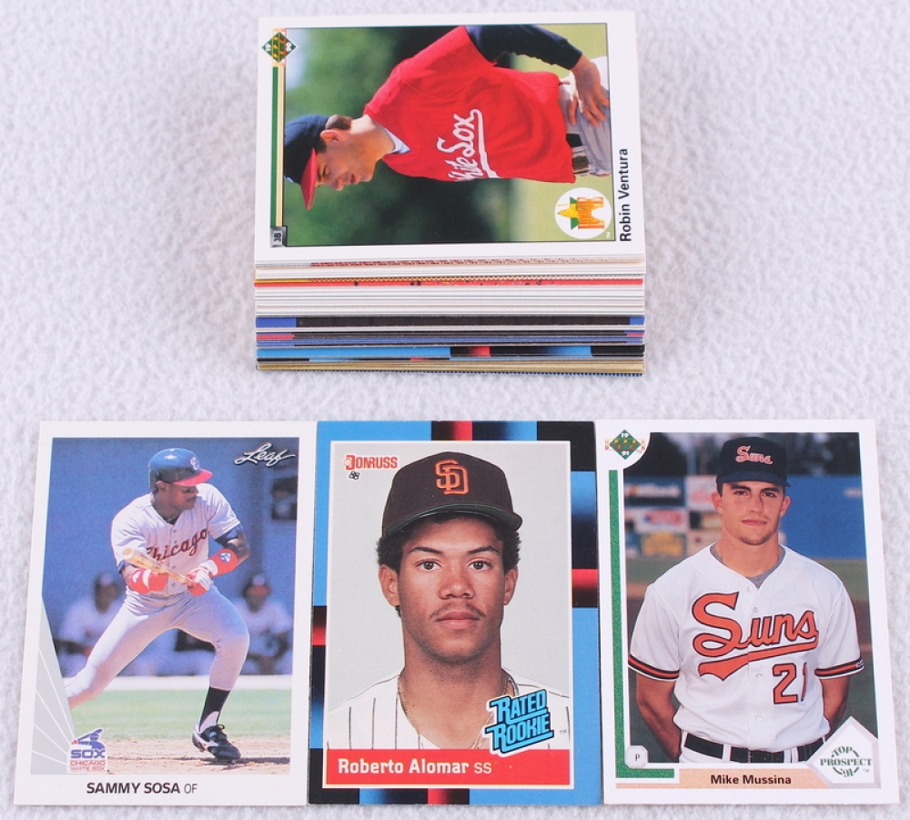 Lot Of 47 Rookies Stars Assorted Baseball Cards With 1988 Donruss 34