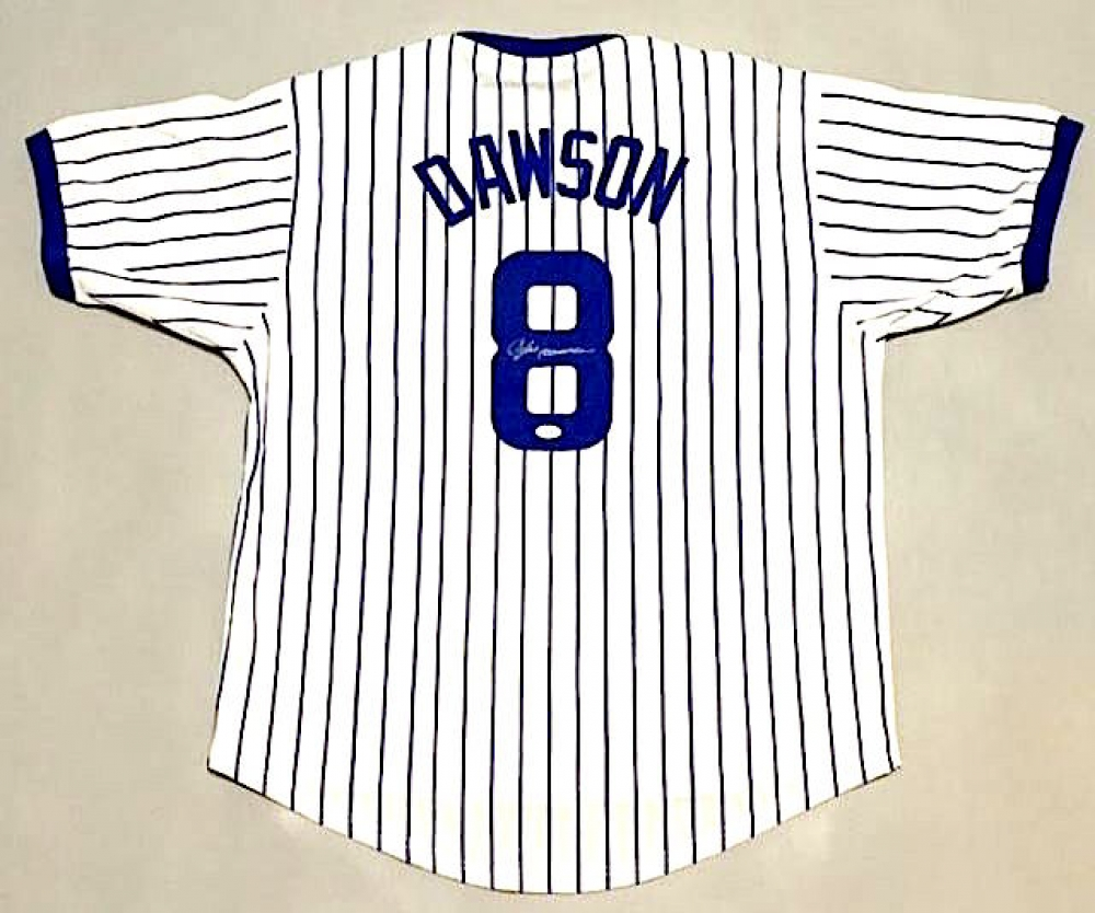 cdfc3dea261 Andre Dawson Signed Cubs Jersey (JSA COA) at PristineAuction.com