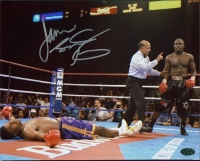 James Toney Signed 8x10 Photo (Leaf COA) at PristineAuction.com