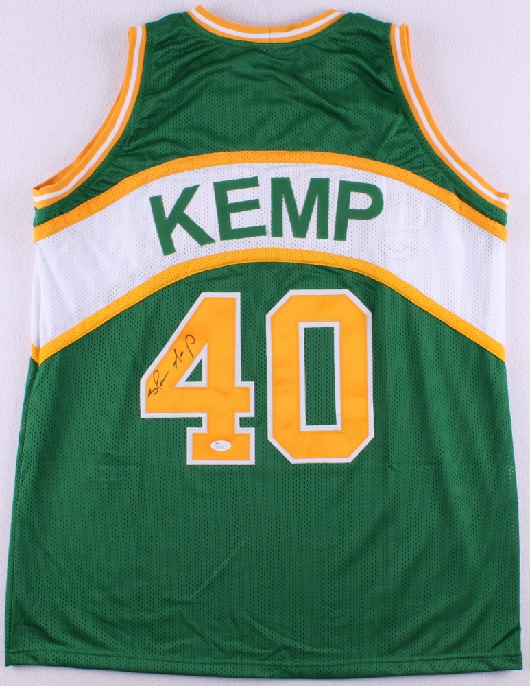 ef7a1b00870 Shawn Kemp Signed Supersonics Jersey (JSA COA) at PristineAuction.com