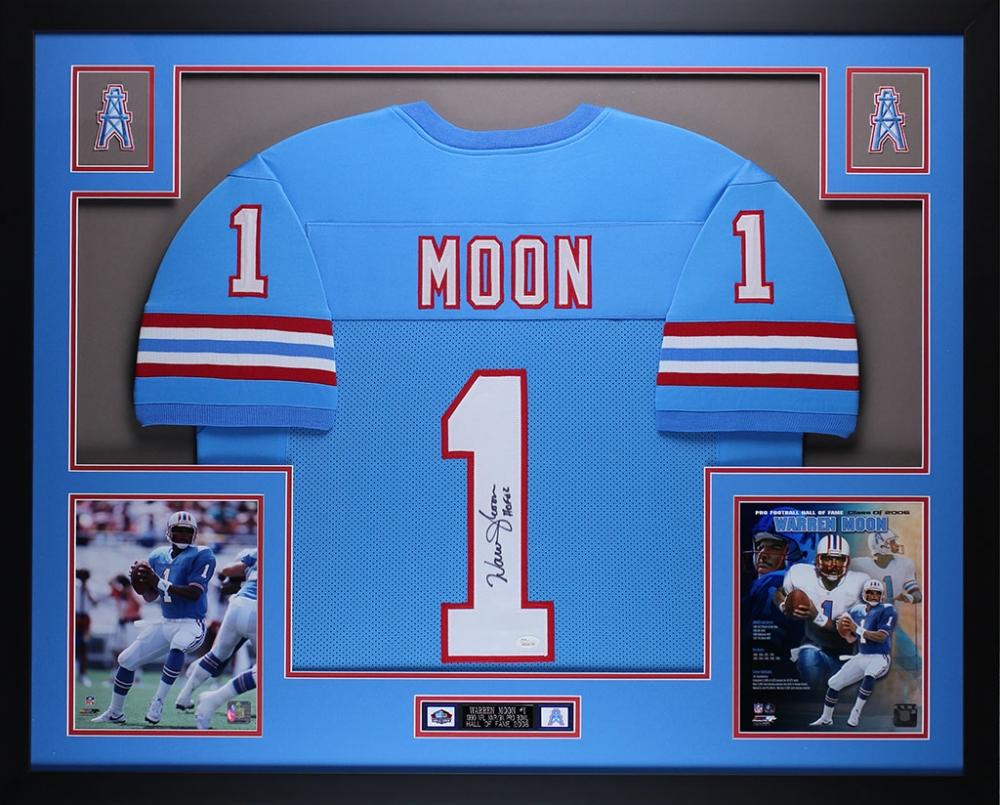 1bc49f1d3 Warren Moon Signed Oilers 35