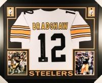 Terry Bradshaw Signed Steelers 35x43 Custom Framed Jersey (JSA COA & Bradshaw Hologram)
