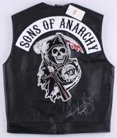 "Ryan Hurst Signed ""Sons of Anarchy"" Vest Inscribed ""Opie"" (Radtke COA)"