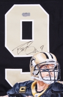 Drew Brees Signed LE Saints Custom Hand-Painted Jersey #1/1 (Radtke Hologram) at PristineAuction.com