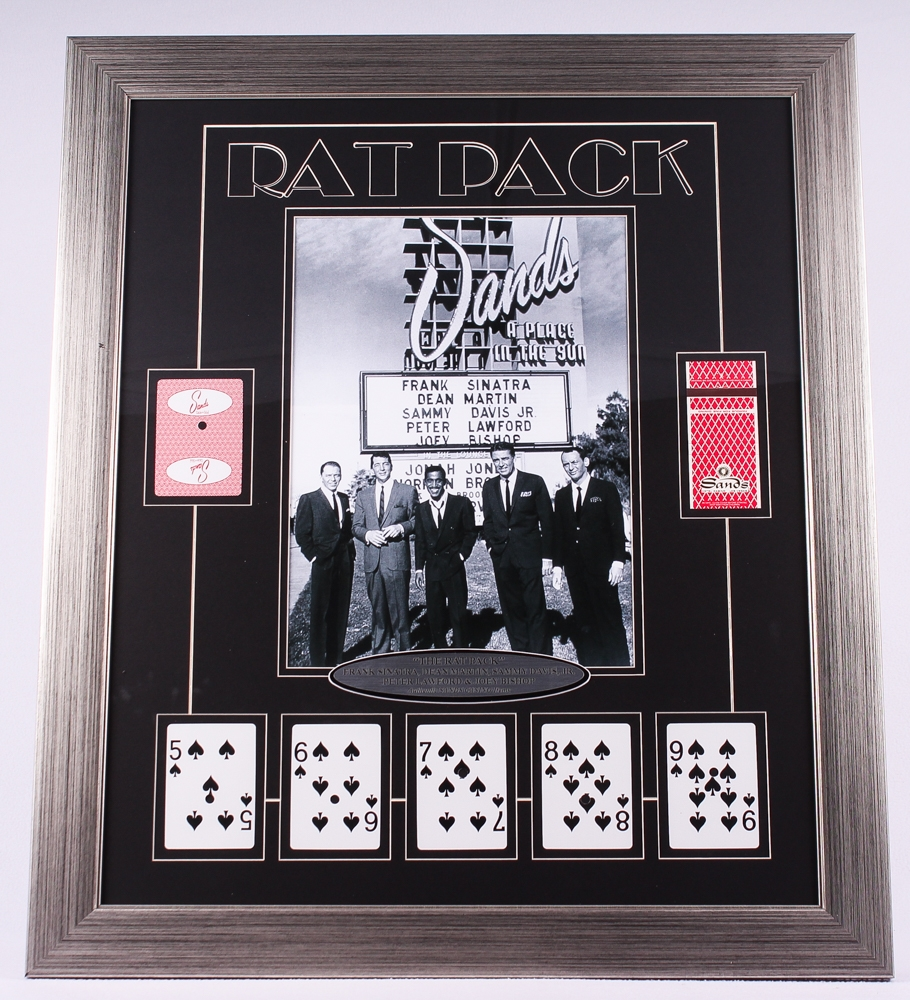 Rat Pack Framed Photo Picture Picture Christmas Holiday