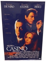 Sharon Stone Signed Casino 24x36 Full Size Movie Poster at PristineAuction.com