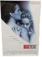 Sharon Stone Signed Basic Instinct 27x40 Full Size Movie Poster at PristineAuction.com