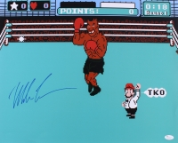 Mike Tyson Signed Punch Out 16x20 Photo (JSA COA) at PristineAuction.com