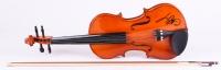 Charlie Daniels Signed Full-Size Fiddle (PSA COA)