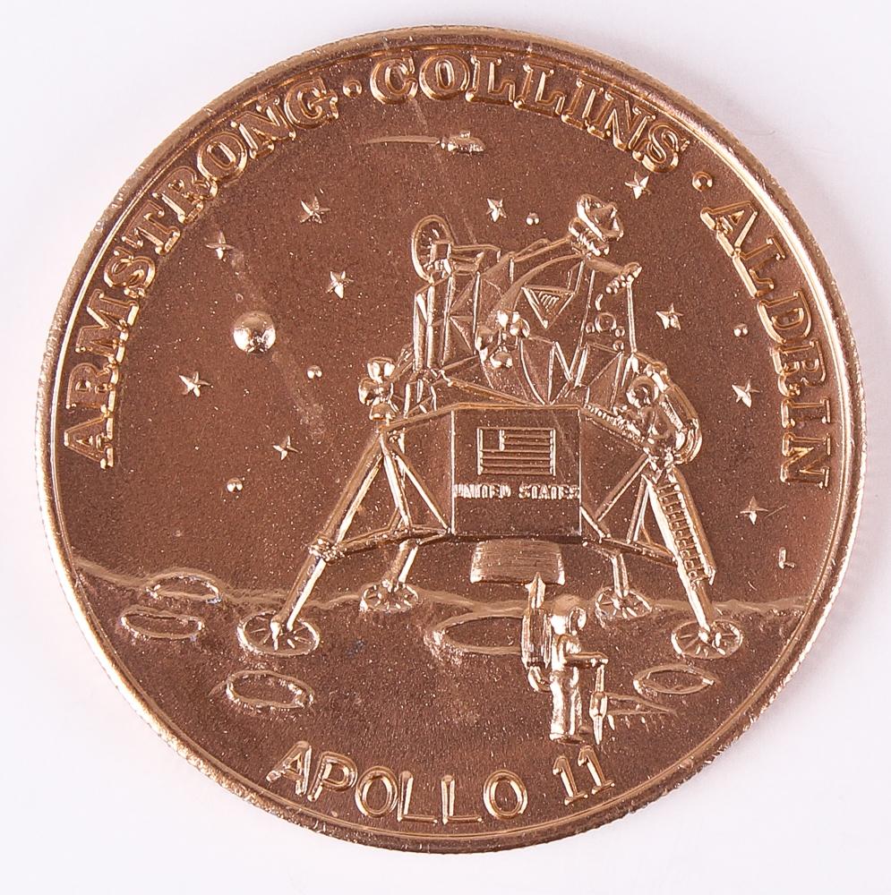 apollo xi commemorative token - photo #26