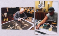 "Bart Starr, Brett Favre & Aaron Rodgers Signed Packers ""Super Bowl Champion Quarterbacks"" 24x36 Stretched Canvas (Favre COA, Fanatics & TriStar Hologram) at PristineAuction.com"