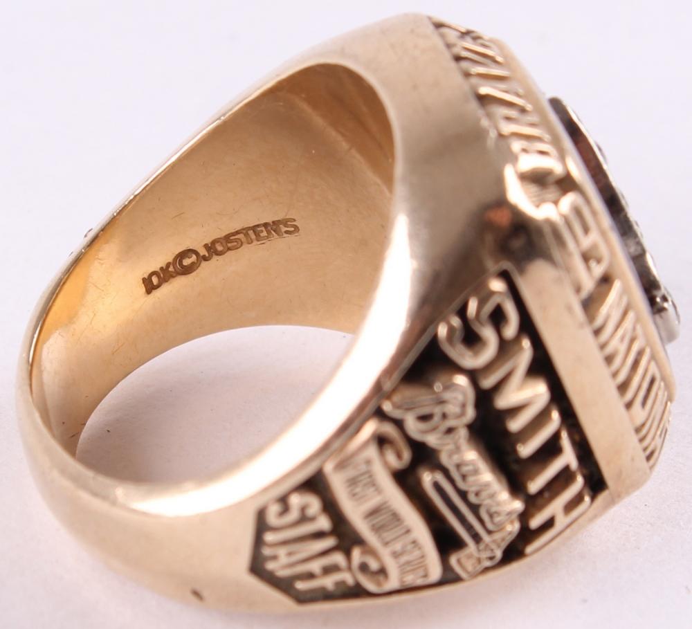 fd513217d16 Atlanta Braves Original 1991 National League Championship Ring -