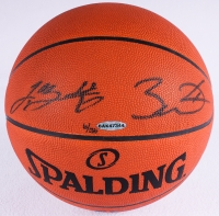 LeBron James & Dwyane Wade Signed LE Official NBA Game Ball (UDA COA)