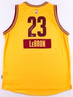 "LeBron James Signed Cavaliers Adidas ""2014 Christmas Day"" Jersey Limited Edition #23/23 (UDA COA)"
