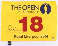 Rory McIlroy Signed 2014 Open Pin Flag Limited Edition #100/100 (UDA COA)