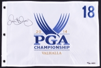 Rory McIlroy Signed 2014 PGA Championship Pin Flag Limited Edition #50/50 (UDA COA)