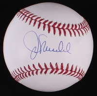 Joe Maddon Signed OML Baseball (Schwartz COA)