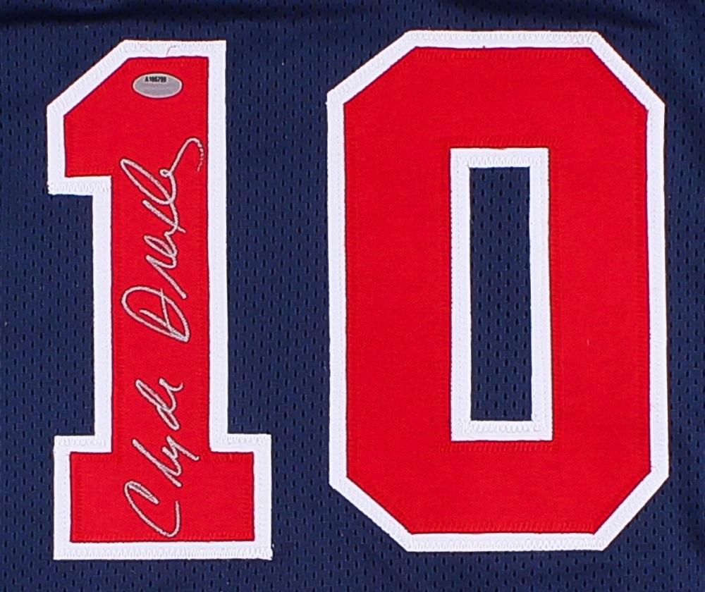 91b7dec99 Clyde Drexler Signed Team USA