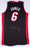 LeBron James Signed Heat Authentic On-Court Jersey (UDA COA)