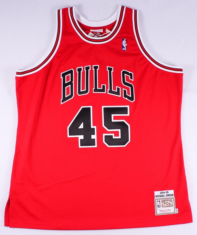 346cc214 Michael Jordan Signed 1994-95