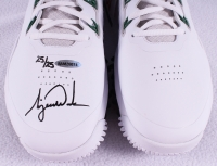 "Tiger Woods Signed New Pair of Nike ""TW"" Golf Shoes Limited Edition #25/25 (UDA COA) at PristineAuction.com"