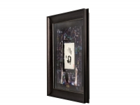 Lionel Messi Signed LE Barcelona 36x36 Custom Framed Tegata Handprint Display (UDA COA) at PristineAuction.com