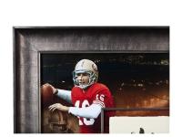 Joe Montana Signed LE 49ers 36x36 Custom Framed Tegata Handprint Display (UDA COA) at PristineAuction.com