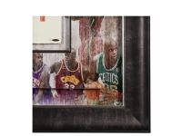 Shaquille O'Neal Signed LE All-Time Career 36x36 Custom Framed Tegata Handprint Display (UDA COA) at PristineAuction.com