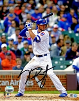 Kris Bryant Signed Chicago Cubs Batting 8x10 Photo at PristineAuction.com