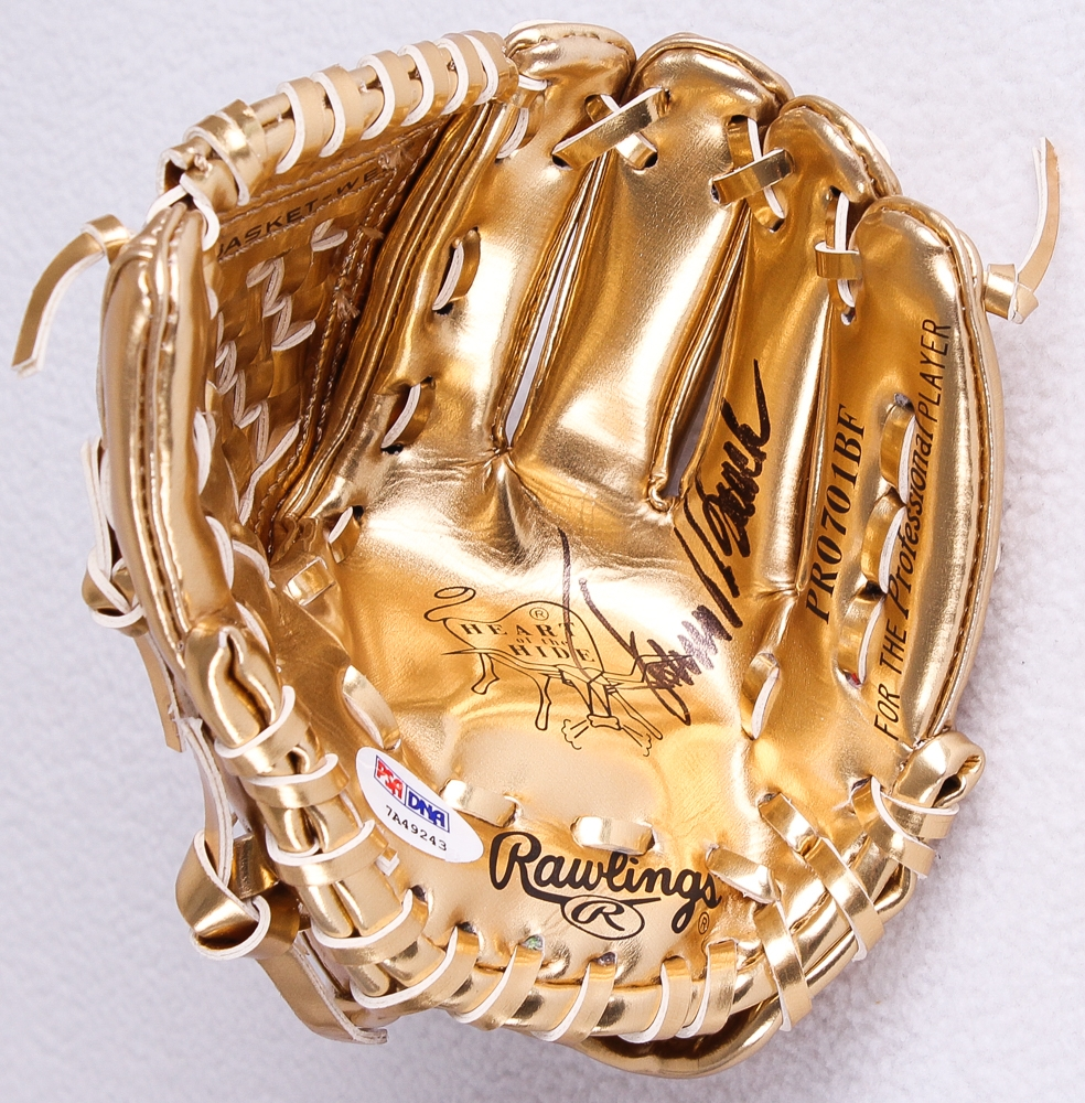 Johnny Bench Gold Gloves 28 Images Rawlings 33 Johnny