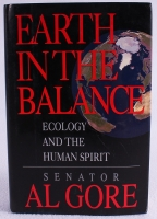 "Al Gore signed ""Earth in the Balance"" Hardback Book (JSA COA) at PristineAuction.com"