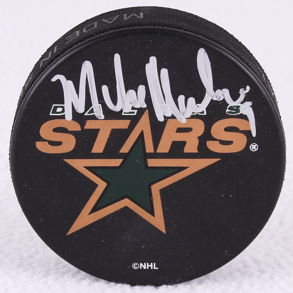 Mike Modano Signed Dallas Stars Logo Hockey Puck (JSA COA) at  PristineAuction.com fbdd8b52e98