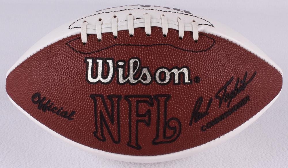 Arizona Cardinals Team Signed Football With Pat Tillman