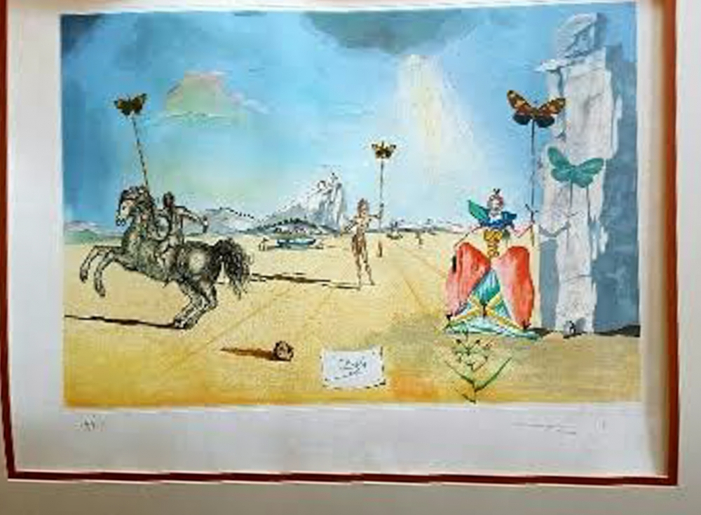 How much is my salvador dali painting worth for How much is my painting worth