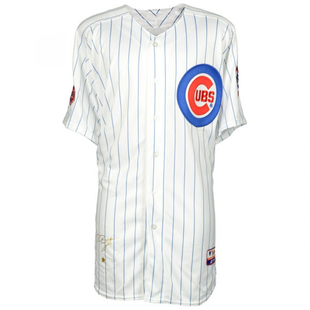 Kris Bryant Signed Cubs 2015 All-Star Game Majestic Authentic On-Field  Jersey Inscribed e00dfa11f
