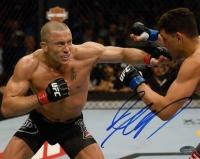 Georges St-Pierre Signed UFC 8x10 Photo (Schwartz COA) at PristineAuction.com