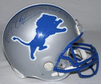 "Barry Sanders Signed Lions Full-Size Authentic Proline Helmet Inscribed ""The Lion King"" (Schwartz COA) at PristineAuction.com"