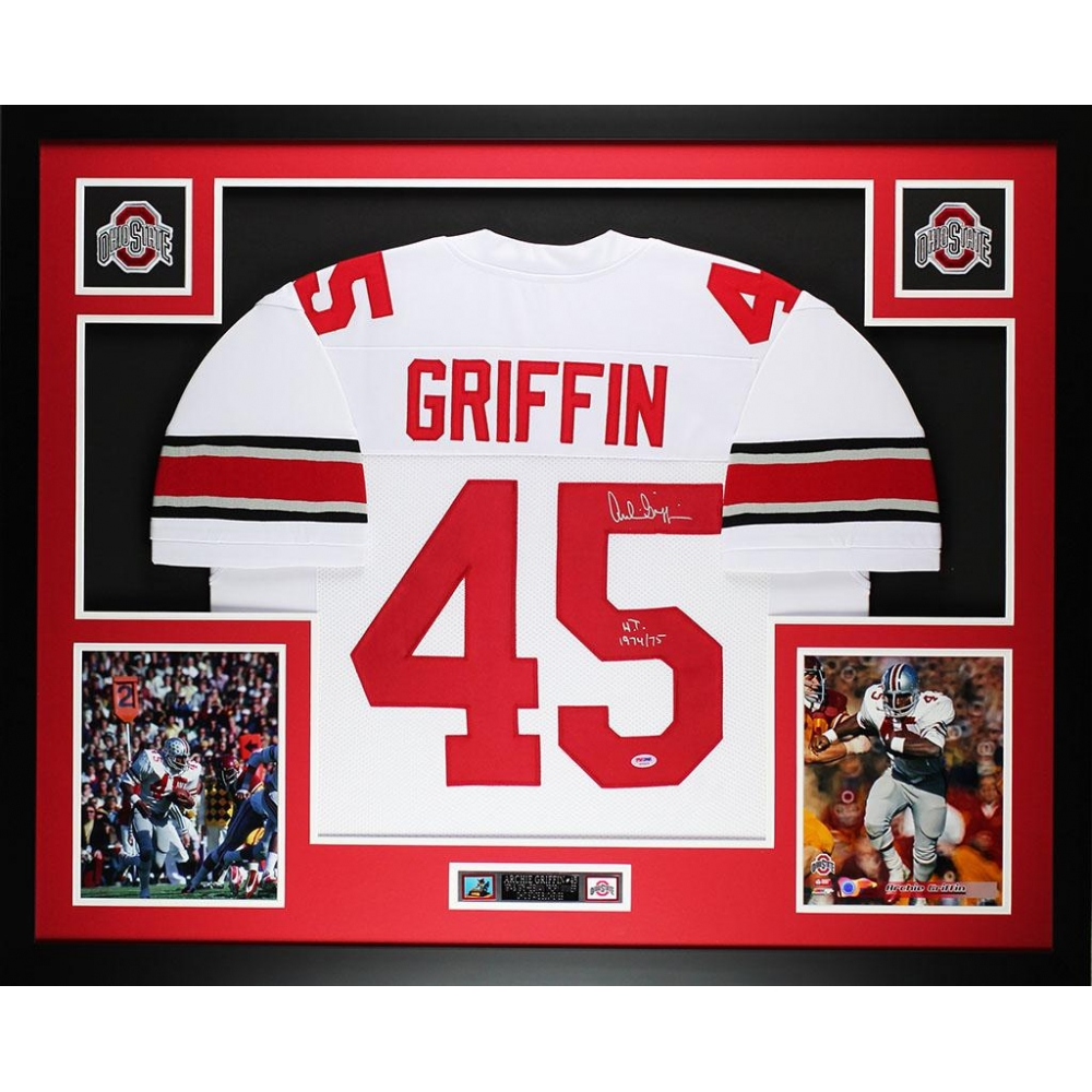 54ea4c72120 Archie Griffin Signed Ohio State Buckeyes 35