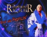 "Ric Flair Signed 'Stylin And Profilin' 16x20 Photo Inscribed ""16x"" (Schwartz COA) at PristineAuction.com"