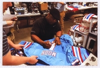 "Warren Moon Signed Oilers Jersey Inscribed ""HOF 06"" (Radtke COA) at PristineAuction.com"