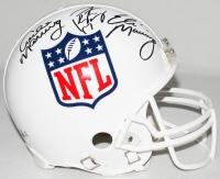 Archie Manning, Eli Manning & Peyton Manning Signed NFL Shield Full-Size Authentic Pro-Line Helmet (Steiner COA, Radtke COA & Fanatics Hologram)