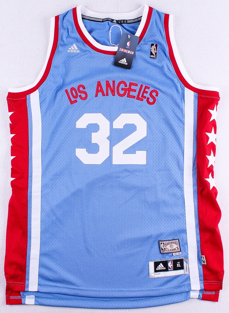 clippers throwback jersey