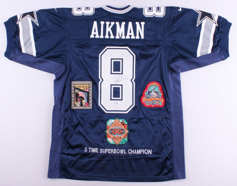 more photos 582e0 2cdab 8 troy aikman jersey village