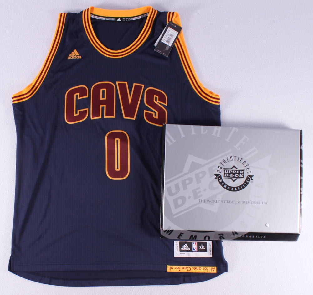44f51a907e2 ... hot kevin love signed cavaliers alternate adidas swingman jersey uda  coa at pristineauction c044a 7f942