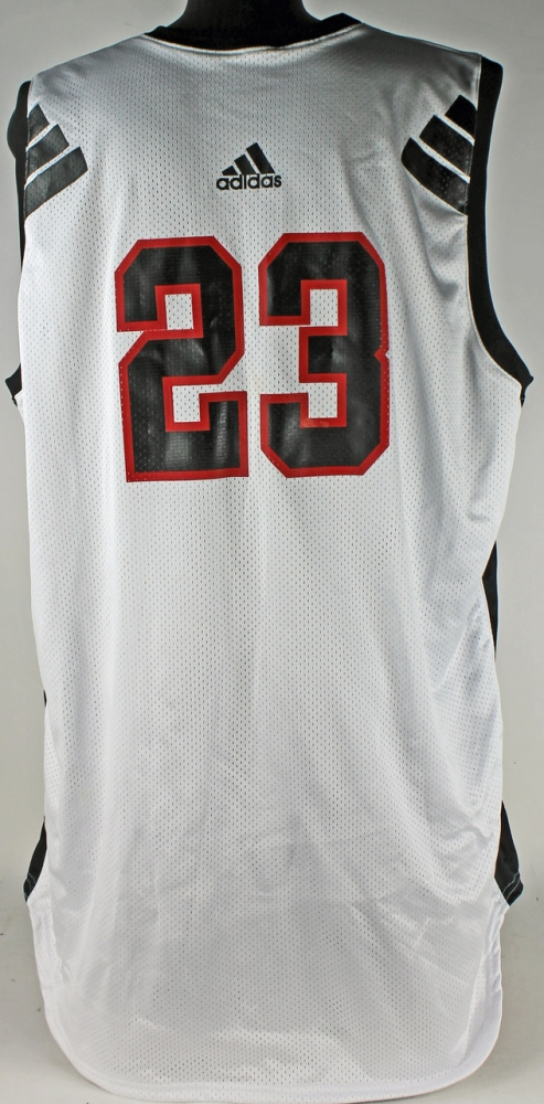 4eef191a5 LeBron James 2002 Game-Used Shooting Stars AAU Uniform (Mears COA   St  Vincent