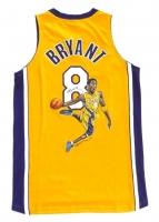 Kobe Bryant Signed Lakers Team Issued Pro-Cut Hand-Painted Jersey LE #1/1 (UDA COA)